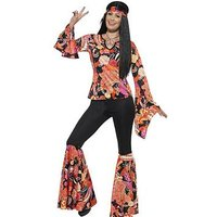 Willow the Hippie - Adults Costume, One Colour, Size 2Xl, Women