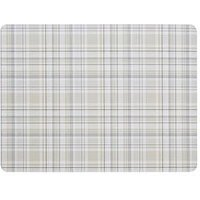 Denby Denby Elements Checks Natural 6 Piece Placemats