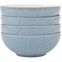 Denby Elements 4-Piece Cereal Bowl Set &Ndash; Blue