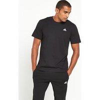 adidas Base T-Shirt, Black, Size M, Men