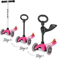 Micro Scooter Mini 3In1 Pink