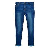 V by Very Boys Super Skinny Jeans, Blue, Size Age: 12 Years