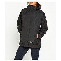 Trespass Nasu II Waterproof Jacket - Black, Black, Size 3Xl, Women