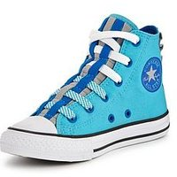 Converse Converse Chuck Taylor All Star Loopholes Hi Infant, Blue, Size 3