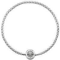 Thomas Sabo Sterling Silver Karma Bead Bracelet, One Colour, Women