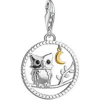 Thomas Sabo Sterling Silver Night Owl Charm, One Colour, Women