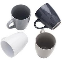 Product photograph showing Sabichi Set Of 4 Textured Mugs