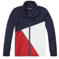 Boys, Tommy Hilfiger Colourblock Jacket, Multi, Size Age: 6 Years