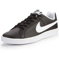 Nike Court Royale, Black/White, Size 7, Men