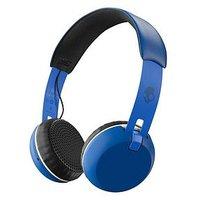Skullcandy Grind Wireless Bluetooth On-Ear Headphones - Royal Cream/Blue