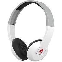 Skullcandy Uproar Wireless Bluetooth On-Ear Headphones - White/Grey