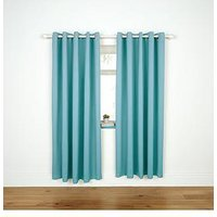 Product photograph showing Kids Blackout Eyelet Curtains