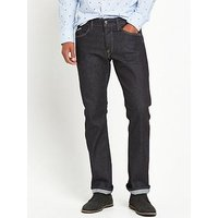 Replay Waitom Regular Slim Fit Jeans, Dark Indigo, Size 30, Length Regular, Men