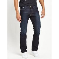 Replay Waitom Regular Slim Fit Jeans, Deep Blue, Size 33, Length Regular, Men