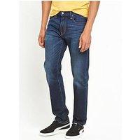Levi's 502 Regular Tapered Fit Jeans, City Park, Size 31, Inside Leg Long, Men