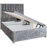 Sweet Dreams Sheba Fabric Lift-Up Storage Divan Bed With Headboard