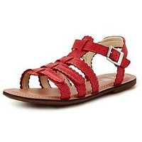 Clarks Loni Moon Girls Sandals, Pink, Size 11 Younger