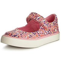 Clarks Brill Gem Shoe, Pink, Size 11.5 Younger