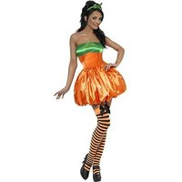 Fever Pumpkin - Adult Costume , One Colour, Size L, Women