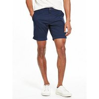 Selected Homme Chino Shorts, Navy Blazer, Size S, Men