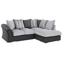 Linear Right Hand Scatterback Compact Corner Chaise Sofa