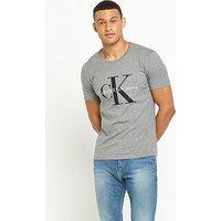 Calvin Klein Jeans True Icon Tshirt, Grey, Size S, Men