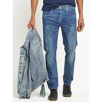 Levi's 502 Regular Tapered Fit Jeans, The Strip, Size 30, Inside Leg Short, Men