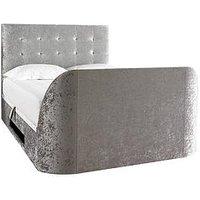 Scarpa Fabric Lift-Up Storage Tv Bed Frame  - Tv Bed Frame Only