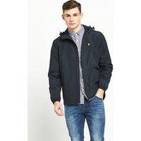 Lyle & Scott Zip Through Hooded Jacket, Navy Jacket, Size L, Men