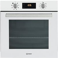 Indesit Ifw6340Whuk 60Cm Built In Electric Single Oven - White - Oven Only