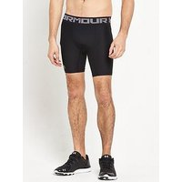 UNDER ARMOUR Mens Heatgear Armour Short, Black, Size L, Men