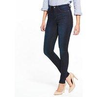 V by Very Florence High Rise Skinny Jean, Ink, Size 16, Inside Leg Long, Women
