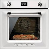 Smeg Sf6922Bpze Victoria 60Cm Built-In Single Electric Oven - White
