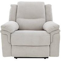 Albion Fabric Manual Recliner Armchair