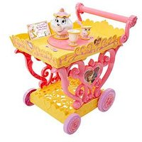 Disney Beauty And The Beast Beauty &Amp; The Beast Belle Tea Party Cart