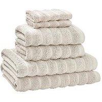 Bianca Cottonsoft 6-Piece Ribbed Cottonsoft Towel Bale