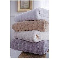 Bianca Cottonsoft Ribbed Cottonsoft Jumbo Bath Sheet