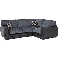 Product photograph showing Bardot Right-hand Double Arm Standard Back Corner Group Sofa