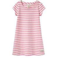 Joules Jersey Stripe Dress, Stripe, Size 5-6 Years, Women