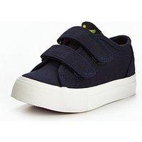 Lyle & Scott Lyle & Scott Boys Teviot Velcro Strap Shoe, Navy, Size 2 Older