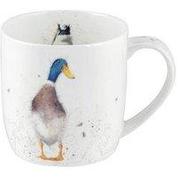 Product photograph showing Royal Worcester Wrendale Guard Duck Mug By Royal Worcester - Single Mug