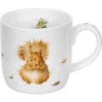 Portmeirion Wrendale Treetops Redhead Mug(Squirrel) By Royal Worcester - Single Mug