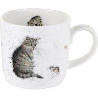 Portmeirion Wrendale Cat And Mouse Mug (Cat) By Royal Worcester - Single Mug