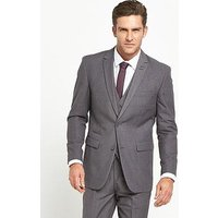 Skopes Madrid Suit Jacket - Grey, Grey, Size 42, Length Regular, Men