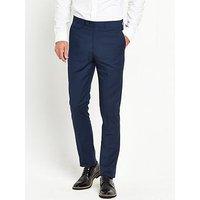 Skopes Kennedy Slim Trouser, Royal Blue, Size 28, Inside Leg Regular, Men