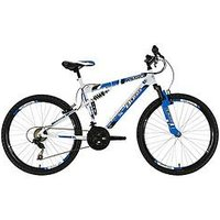 Boss Cycles Astro Mens Steel Mountain Bike 20 inch Frame, One Colour, Men