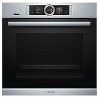 Bosch Serie 8 Hbg6764S6B 60Cm Built-In Electric Single Oven - Stainless Steel