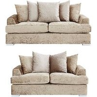 Cavendish Finsbury 3-Seater + 2-Seater Fabric Sofa Set (Buy And Save!)