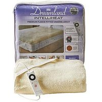 Product photograph showing Dreamland Intelliheat Fleecy Underblanket