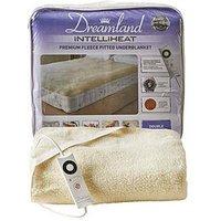 Product photograph showing Dreamland Intelliheat Fleecy Underblanket